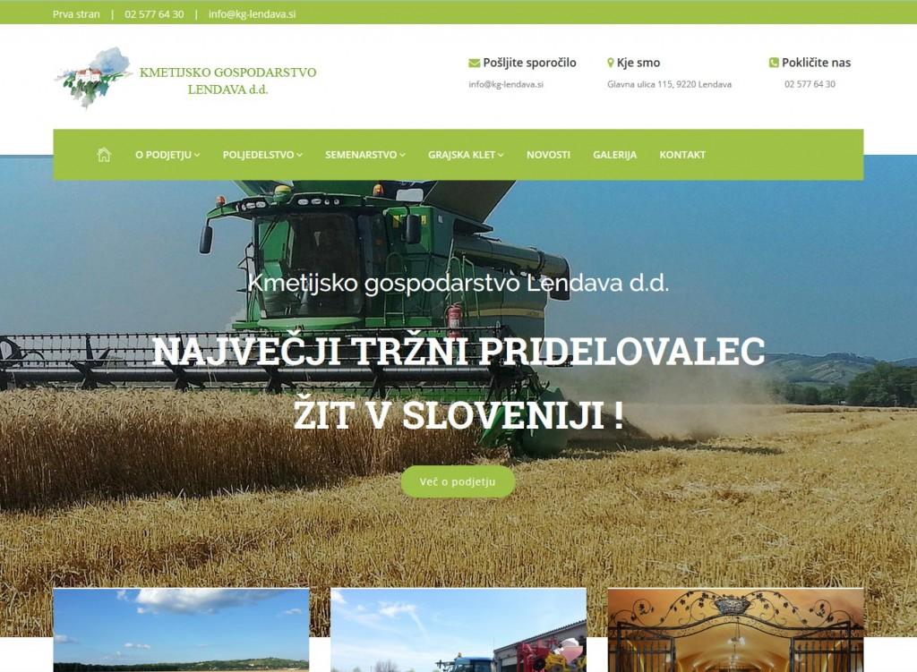 Kmetijsko gospodarstvo Lendava
