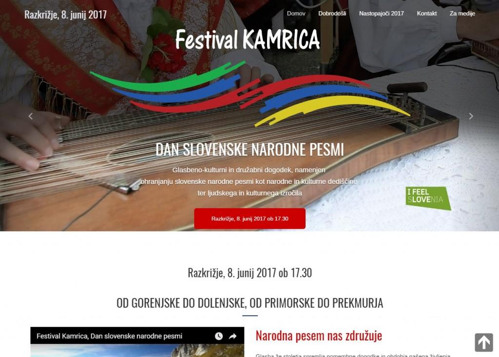 Festival Kamrica 2017