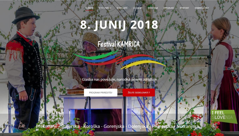 Festival Kamrica, Iz zemlje gre v trsek